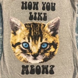 How you like meow? T shirt